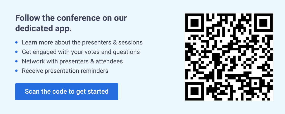 SFR - Safran Project-Risk Conference 2021 QR Code and App Instructions